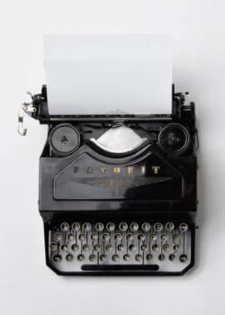 We don't recommend using a typewriter for your scholarship essay